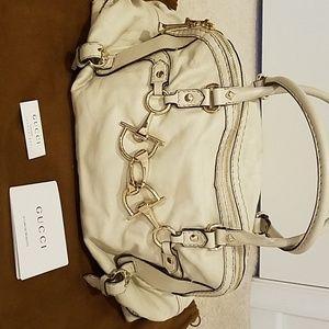 Gucci Horsebit Nail Boston Bag